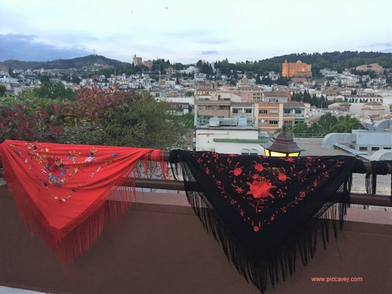 View of Granada Crosses Flamenco Festival