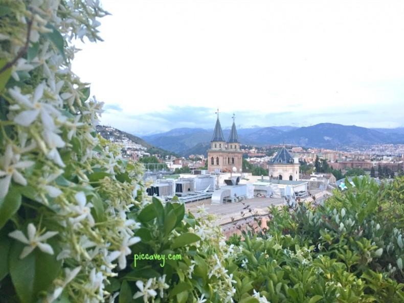 Virgen de las Angustias Granada city Spain