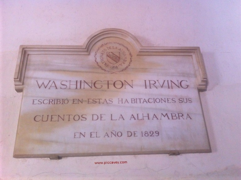 Washingon Irving Tales of Alhambra