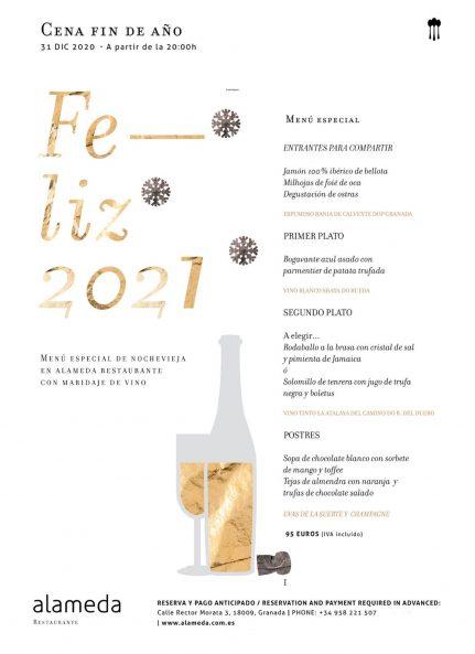 Alameda New Year Granada 2021