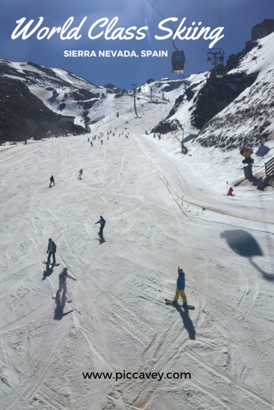 Skiing Sierra Nevada Granada