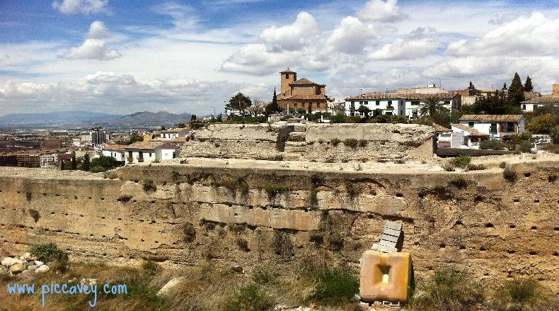 Ziri Wall Albaicin Granada Spain