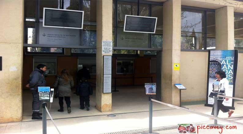 Ticket queue Alhambra palace granada