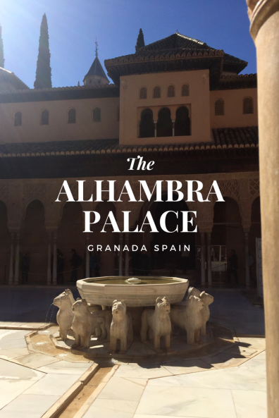 THE ALHAMBRA GRANADA WITH CHILDREN