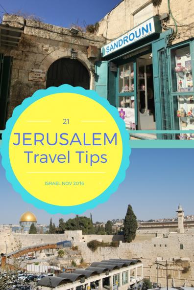 Jerusalem Tips by piccavey