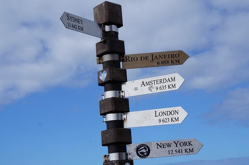 Photo by @mrbrunowolff via Unsplash Trust Your Travel Agent Signpost