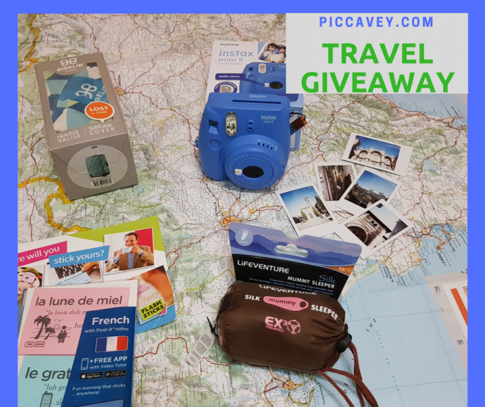Travel Giveaway - January Prize Draw for intrepid travellers