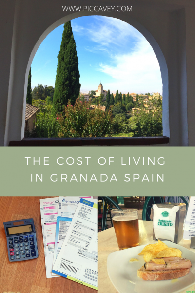 cost of living in granada spain
