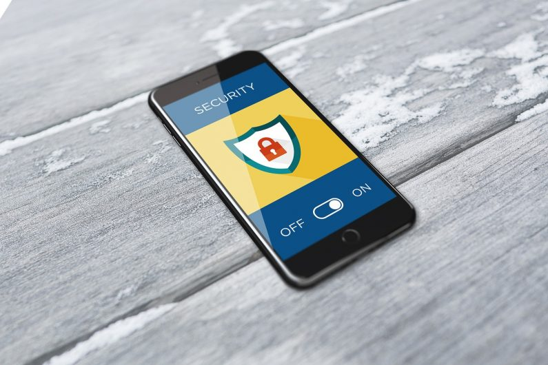 Cyber Security smartphone