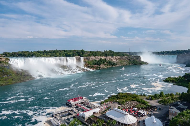 Visiting Niagara Falls Canada