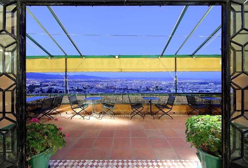 Hotel Alhambra Palace in Granada Spain