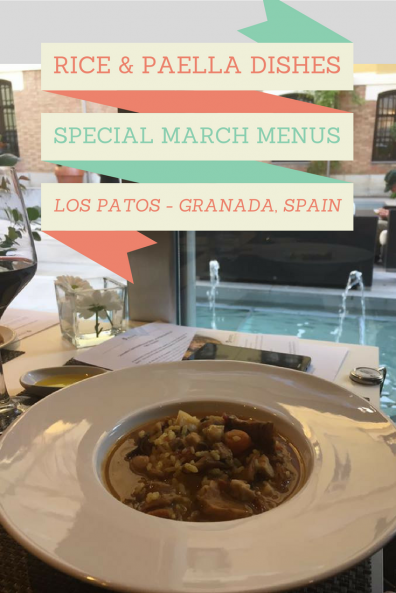 Rice and Paella Specials in Granada