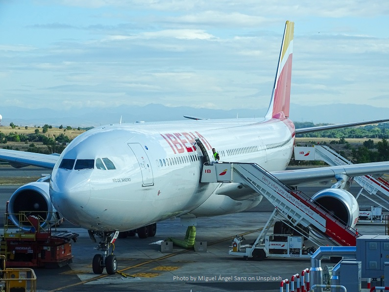 Spanish Flight Delayed Airpo