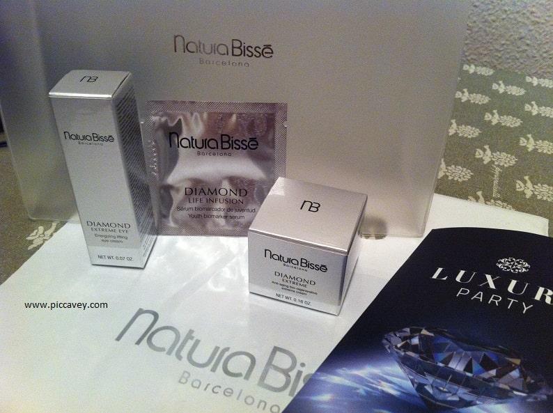 natura bisse Spanish cosmetics cream