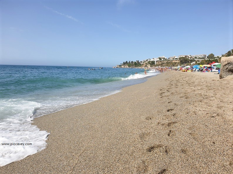 nerja Burriana Best Spanish Beaches