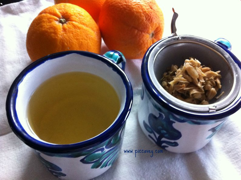 Orange blossom Tea by piccavey