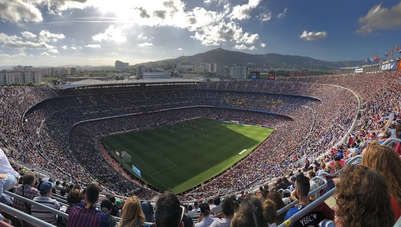 Camp Nou Barcelona Unsplash