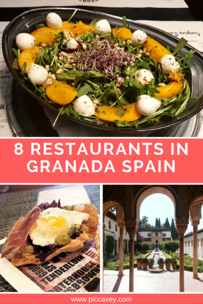8 restaurants in granada
