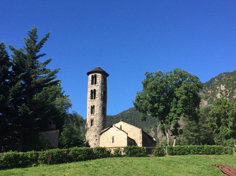 stone church andorra