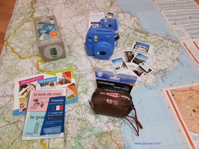 travel giveaway pack