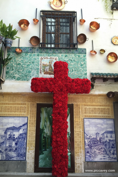 Crosses of May in Granada