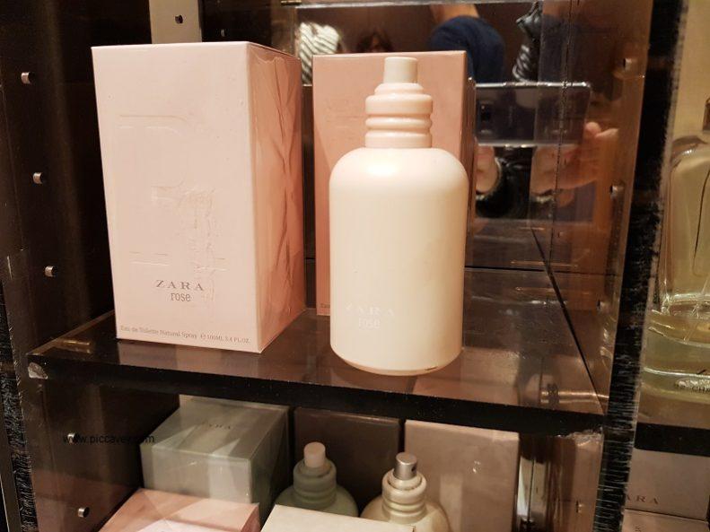 zara perfume spanish cosmetic.